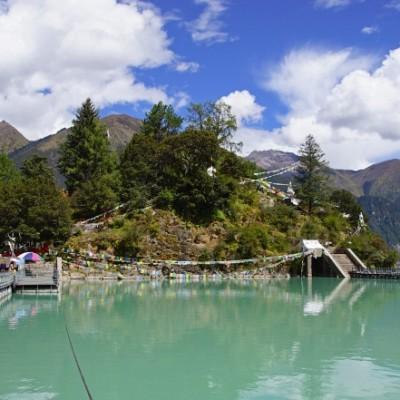 Basum (Draksum) Tso in eastern Tibet
